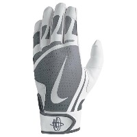 ナイキ メンズ 野球 グローブ【Nike Huarache Edge Batting Gloves】White/Cool Grey