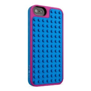 Belkin LEGO Case / Shield for iPhone 5 / 5S and iPhone SE (Magenta / Blue)