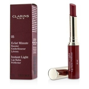 ClarinsEclat Minute Instant Light Lip Balm Perfector - # 05 Redクラランスリップバーム パーフェクター - # 05 レッド 1.8g...