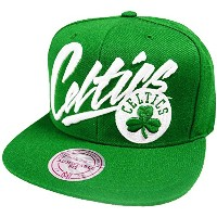 Mitchell & Ness Boston Celtics NBA Vice Script 358VZ NBA Snapback Cap Basecap
