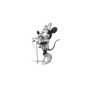 UDF ROEN collection MINNIE MOUSE (SOLO Ver.) BLACK & SILVER(ノンスケール PVC製塗装済み完成品)