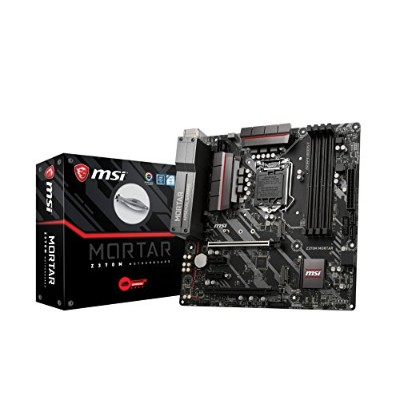 MSI Z370M MORTAR M-ATX マザーボード [Intel Z370チップセット搭載] MB4147