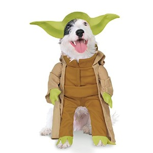 Rubies Costume Star Wars Collection Pet Costume, Yoda with Plush Arms, Small by Rubie's