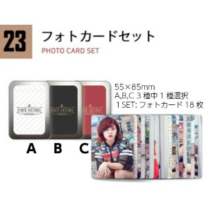 TWICE PHOTO CARD SET [TWICE ONCE BEGINS FANMEETING GOODS] 公式グッズ TWICEグッズ タイプ A