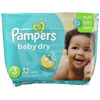 Pampers Baby Dry Diapers size3 32ct by Pampers