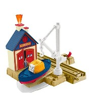Fisher-Price Thomas the Train TrackMaster Captain at the Rescue Center トーマス レスキューセンターのキャプテン...