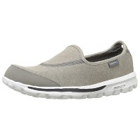[スケッチャーズ] SKECHERS GO Walk 13510 GRY (Gray Textile/ Trim/24.5)