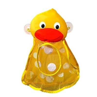 HOT SALE The Momma Duck Bath Toy Organizer Bag for Baby Toys & Toy Storage Ideal for 1 Year Olds, 2...