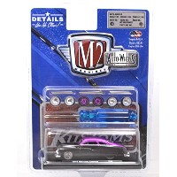 "M2 MACHINES 1:64SCALE ""AUTO-WHEELS RELEASE 5"" ""1949 MERCURY CUSTOM - BLACK/STAIN PURPLE"" M2マシンズ 1..."