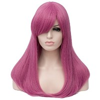Aicos Synthetic Heat Resistant Full Head Wig for Women Natural Soft Daily Christmas Halloween Anime...