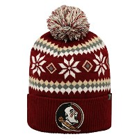 Florida State Seminoles公式NCAA 1つサイズFogbow Cuffed Knit Beanie Hat by Top of the World 251428