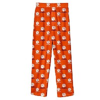 NCAA Clemson Tigers Colored Printedパンツ、オレンジ、大