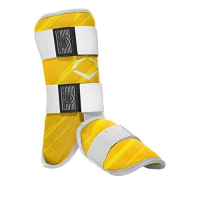 EVOSHIELD MLB BATTERS SPEED STRIPE LEG GUARD レッグ ガード すね当て (2046110) ((YELLOW(753)) [並行輸入品]