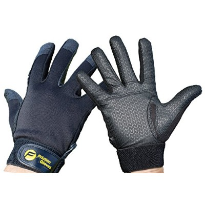Friction Ultimate Frisbee Gloves - 1 World's Best Selling Ultimate Glove. Improve Throws & Catches...