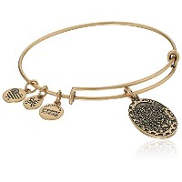 Alex and Ani Because I love you Daughter II 延長バングルブレスレット One Size