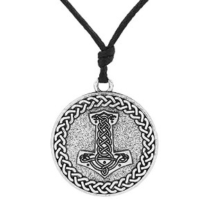 Supernatural Thor 's Hamme TalismanヴィンテージアイルランドノットペンダントNecklacer Wiccaジュエリーメンズ