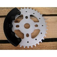 BMXギア&ガードセット【Fly Bikes Sprocket 36T, 37T, 38T ガード付き】ガード付きスプロケット【50%OFF】