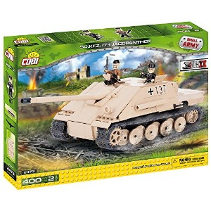 Cobi Small Army ミリタリーブロック WWII 第二次世界大戦 ドイツ軍 駆逐戦車 Sd.Kfz.173 ヤークトバンター Jagdpanther #2473【COBI...