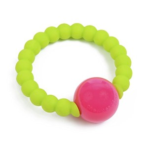 Chewbeads Mercer Rattle - Chartreuse by Chewbeads