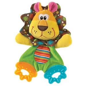 Playgro Roary the Lion Teething Blankie for Baby by Playgro