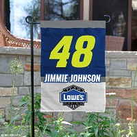 NASCAR Jimmie Johnson # 48両面ガーデン旗
