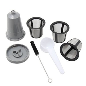 XcellentグローバルReusableコーヒーフィルタセットfor Keurig , My k-cupスタイル、フィルタハウジング+ 3extra filters , Fits b30b40...