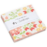 Sundrops Charm Pack By Moda; 42 - 5 Precut Fabric Quilt Squares by moda