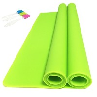 EPHome 2Pack Extra Large Multipurpose Silicone Nonstick Baking Mat, Pastry Mat, Heat Resistant...