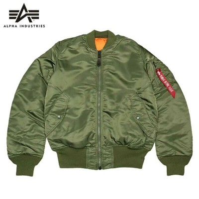 ALPHA アルファ MA-1 TIGHT 20004 / 203/V.GREEN
