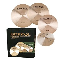 Istanbul Mehmet Cymbals Traditional Cymbal Set (HHM14-CM16+18-RM20+Cymbal Bag) TR-SET+1