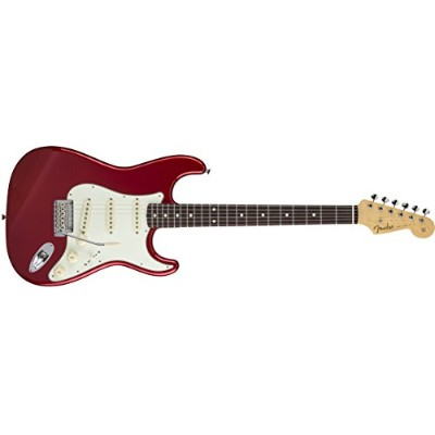Fender エレキギター MIJ Hybrid '60s Stratocaster®, Rosewood, - Candy Apple Red
