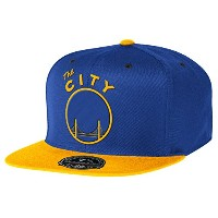"Golden State San Francisco Warriors 2トーン"" High Crown "" Fitted Hat – NBAフラットビルベースボールキャップ( 7 )"