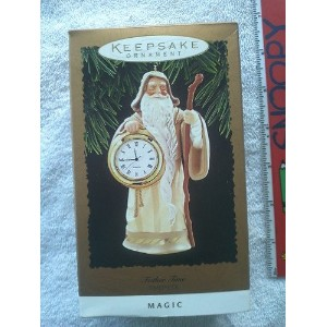 Father Time Timepiece Magicオーナメント1996by Hallmark
