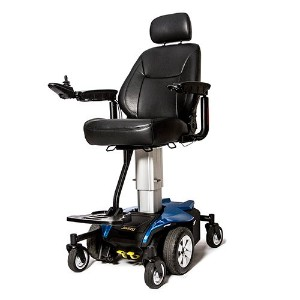 "Pride Jazzy Air Electric Powerchair 10 ""電源シート高さ調整可能+チャレンジャーアクセサリー& 3年間サービス計画 JAZZY AIR"