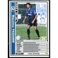 [WCCF]SERIE A 2001-2002Ver.1 004/288「マッシモ・パガニン」白カード【中古】