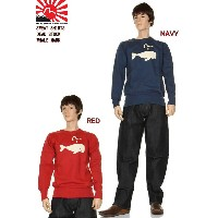 EVISU JEANS KAMOME MARK SWEAT SHIRTS エヴィスジーンズ EVIS WHALE MARK えびす カモメ マーク スウェット シャツ トレーナー 綿100% 新品...