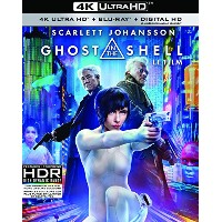 Ghost in the Shell [4K UHD + BD + UV] [Blu-ray] - Imported Ca.