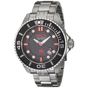 INVICTA Pro Diver Men 47mm Stainless Steel Stainless Steel Black dial NH35A Automatic