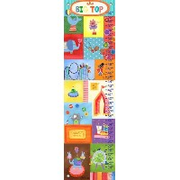 Oopsy Daisy Big Top by Jill McDonald Growth Charts, 12 by 42-Inch by Oopsy Daisy