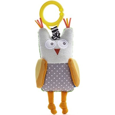 Taf Toys Obi The Owl Jittering Baby Toy