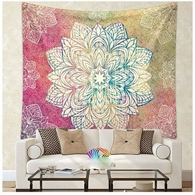 (2) - WCHAUNG Polyester Handicrafts Hippie Mandala Tapestry Wall Hanging, Indian Tapestry, Bed...