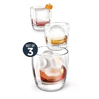 Zoku Mixology Ice Molds、セットの3