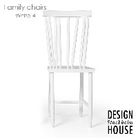 Family Chairs(ファミリーチェアー)「4」ホワイト DESIGN HOUSE stockholm(デザインハウス ストックホルム)スウェーデン 北欧家具【送料無料】【RCP】
