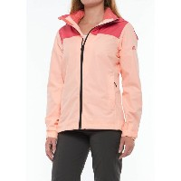 アディダス レディース アウター レインコート【outdoor Wandertag Jacket - Waterproof】Tactile Pink/Haze Coral