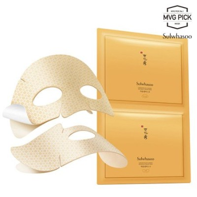[Sulwhasoo/雪花秀] Concentrated Ginseng Renewing Creamy Mask 5ea [TTBEAUTY][韓国コスメ]