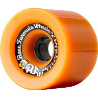 Sector 9 Race Formula Skateboard Wheel, Orange, 74mm 82A by Sector 9