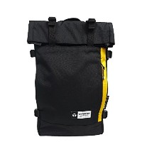 YAKPAK ヤックパック バッグ リュック YP2021NS RUCKSACK デイバッグ バックパック 男女兼用 全4カラー ag-897500 (3:YP2021NS-BLK/LYL)