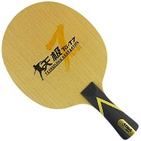DHS tg7-bl Table Tennisブレードfor Ping Pong Racket、ロング( Shakehand ) -fl