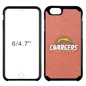 NFL San Diego Chargers Classic Football Pebble Grain Feel iPhone 6ケース、ブラウン