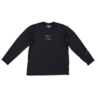 Boy 's Billabong Loose Fit L / S Rashguard ブラック